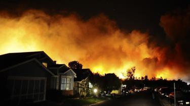 Californien bliver mere og mere tørt, og de færreste af dem, der mister deres hjem eller afgrøder i de hyppige skovbrande, er forsikrede.