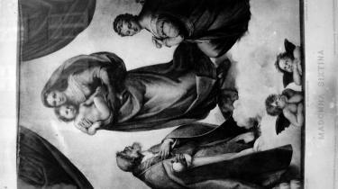 Ikonet med Raphaels Jomfru Maria.