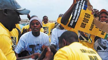 Sydafrikas legendariske befrielsesbevægelse ANC står over for en splittelse, og trods glæde over udsigten til en stærkere opposition, frygter flere eksperter, at partideling kan resultere i etnisk vold og ustabilitet