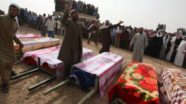 Mindst otte mennesker blev dræbt ved det amerikanske angreb på den syriske landsby Al-Sukkiraya i weekenden.