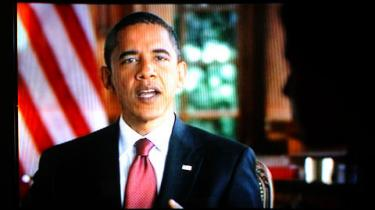 I går viste de fleste landsdækkende kanaler i USA Barack Obamas halv time lange infomercial