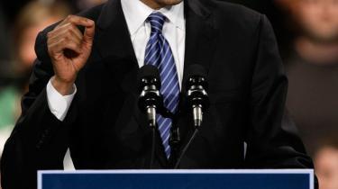 I fjor efterlyste Obama en præsident, der kan tale direkte til alle i hele verden. Øjeblikket er kommet nu.
