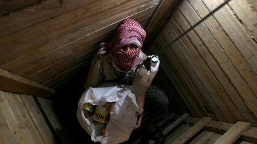 Gennem tunnellerne fra Gaza til Egypten fragtes alt muligt: Dieselbrændstof, gas, tøj, chokolade, cigaretter, kartoffelchips, kvæg, motorcykler - og hospitalspatienter. Arkiv