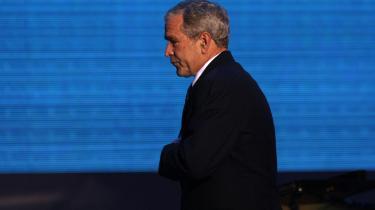 Obama får brug for sine talegaver, når han skal rydde op efter og undskylde for Bush- rædselsregime og dets ugerninger.