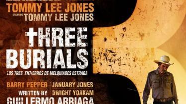 Veteranskuespilleren Tommy Lee Jones slipper helskindet fra sin ambitiøse instruktørdebut, den morbide nutidswestern 'The Three Burials of Melquiades Estrada'