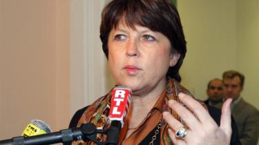 Socialisternes nye leder Martine Aubry.