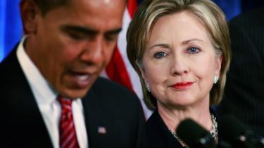 Først var de modstandere i kampen om at blive demokratisk præsident-kandidat. Nu skal Hillary Clinton være udenrigsminister i Obama-regeringen.