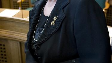 Informations læsere finder bommerten i, at Birthe Rønn Hornbech troede, hun kunne bevare sin hæderlighed i Foghs regering.