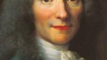 Voltaire diskuterer ikke uaktuelt skæbne og tilfældighed