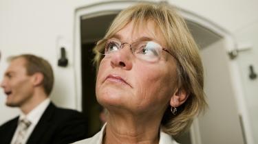 Pia Kjærsgaard forudser en snarlig udskiftning blandt Anders Fogh Rasmussens ministre.