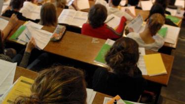 Det skl være gratis for alle europæiske studerende at tage en eksamen via Erasmus Mundus-programmet, fordi det giver mulighed for alle at tage en attraktiv international uddannelse - uanset ens forældres indtægt. arkiv