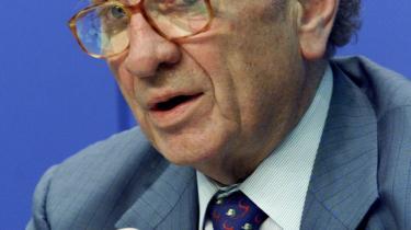 -Det er mit partis opgave at kæmpe for, at de liberale idéer overlever,- siger Otto Graf Lambsdorff fra Freie Demokratische Partei.