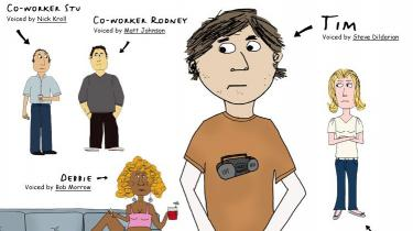Tim er en tegneseriefigur, en ung fyr fra New York, som i næsten enhver hverdagssituation vader fra i den ene fejltagelse til den anden.