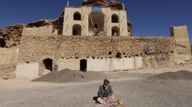 Den afghanske regerings næste store mineprojekt bliver udvindingen af de enorme jernforekomster, som findes i Hajigag-minen her i Bamiyan, 230 km vest for Kabul.