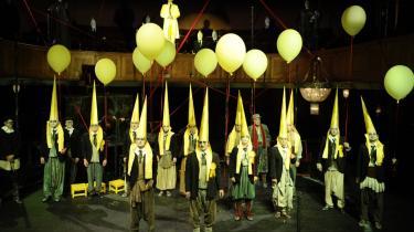 Nej, Orestien på Odense Teater lykkedes ikke. Alligevel var den årets mest beundringsværdige forestilling - fordi den var den mest passionerede og kompromisløse.