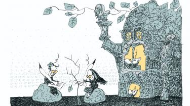Manglen på store penge i bogbranchen er sund, mener litteraturredaktør på Weekendavisen, Klaus Wivel. Det er en tankegang, man kun kan tillade sig, når man tilhører kulturlivets økonomiske elite