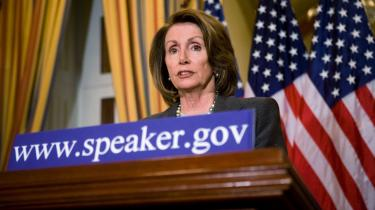 Nancy Pelosi, den indflydelsesrige amerikanske demokrat og leder af Repræsentanternes Hus, stiller spørgsmål ved, om den nye amerikanske regering kan nå at have en godkendt klimapolitik på plads inden klimatopmødet i København til december.
