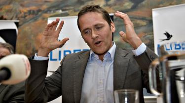 Den nye leder. Efter Naser Khaders farvel til Liberal Alliance står Anders Samuelsen nu som lederen af den liberale opposition. Men meninger om, hvorvidt han bære opgaven igennem, er delte i det liberale miljø.