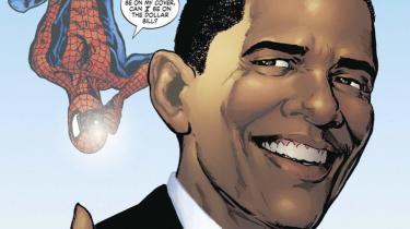 Spider-Mans motto er, at med store evner følger et stort ansvar. Det må han leve op til, når Barack Obama i morgen kommer på besøg i tegneserien og får brug for superheltens hjælp