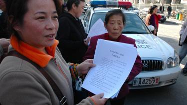 Zhang Wei nægter at lade sig kue af de kinesiske myndigheder og taler åbent om sin fængsling.