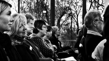 På Testrup højskole mødes et bredt udsnit af danske læsere. Men over kalvestegen ved middagsbordet er enigheden om, hvad der er god litteratur, alligevel ganske udbredt