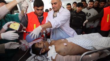 Situationen for civilbefolkningen i Gaza bliver mere og mere desperat, og antallet af dræbte nærmer sig 1.000.