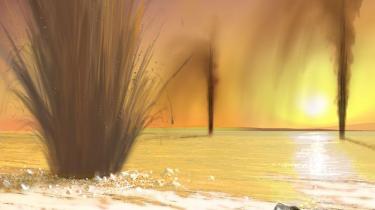 De massive faner af metangas på den røde planet kan vanskeligt forklares uden at antage, at der er biologisk liv, mener de forskere, der har gjort det opsigtsvækkende fund. Det er i givet fald liv på et primitivt mikroorganisme-niveau
