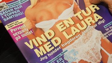 Er Helge Adam Møller blevet så puritansk, at han tilsyneladende har glemt, at soldater har klippet damer ud af blade, så længe der har været damer i blade? Arkiv