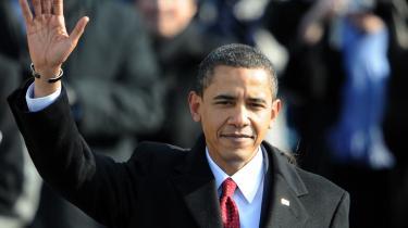 I sin tale forberedte Barack Obama amerikanerne på, at meget hårde tider venter forude.