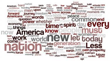 Barack blev tirsdag USAs 44. præsident. Her er hans indsættelsestale oversat til dansk