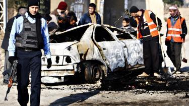 Selv om det irakiske politi endnu ikke kan stå på egne ben, er de danske rådgivere taget hjem. Opgaven er overladt til USA.