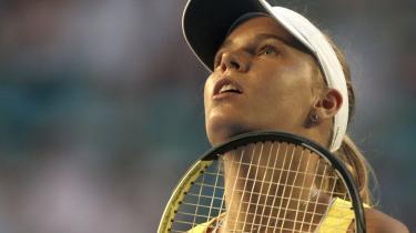 Selvtilliden sivede ud af Caroline Wozniacki, der skuffende måtte forlade Australian Open i tredje runde