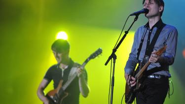 Franz Ferdinands nye album lover godt for gruppens normalt strålende koncerter.