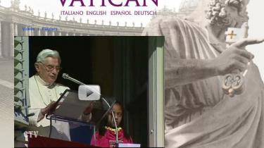 Guds stedfortræder på Jorden, Pave Benedikt XVI, har fået sin egen kanal på YouTube, hvor der vises prædikener fra Peterspladsen og korte nyhedsindslag.