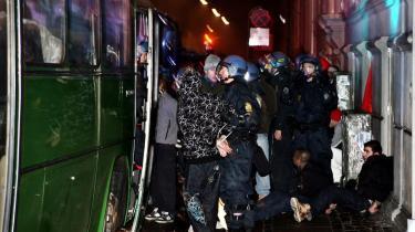 Politiet kan se frem til en række klager fra mennesker, der blev anholdt under Gaza-demonstrationen i København den 13. januar.