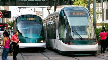 Med trafikforliget er der afsat to milliarder kroner til, at Århus og København kan få såkaldte letbaner - måske som i Strasbourg i Frankrig.