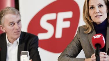 Villy Søvndal (SF) og Helle Thorning-Schmidt (S) fremlagde i går ni overordnede principper for skattereformen, som de to partier sammen går til skatteministerens forhandlingsbord med.