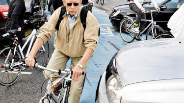Nogle af de forslag, som SF fik politisk flertal for (jævnfør investeringsaftalen) omfatter en lang række initiativer heriblandt; en klar forbedring af forholdene for cyklister. Arkiv