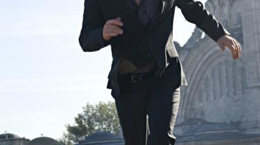 Ulrich Thomsen spiller rollen som skurk i The International, som åbnede Filmfestivallen i Berlin i går.