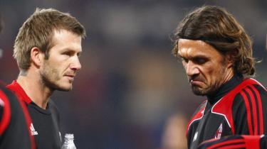 Opblomstring. Efter et lidt uambitiøst ophold i Los Angeles synes David Beckham at have fundet et nyt hjem i Milan, hvor man forstår at bevare både gnisten og bentøjet hos veteraner som f.eks. Paolo Maldini.