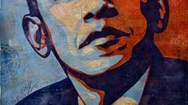 Det er sjældent, at gadekunstnere får adgang til konventionelle museer. Shepard Fairey - der står bag en berømt plakat af Obama - er undtagelsen på en retrospektiv udstilling i Boston
