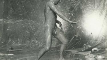 Flemming Flindt selv i genopsætningen af sin kendteste ballet -Dødens Triumf-i 1979. Han sov i går stille ind på et hospital i Sarasota i Florida omgivet af sin ekskone Vivi Flindt og deres tre døtre, Bernadette, Tina og Vanessa.Arkiv