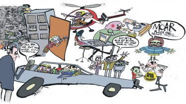 Bekymrede helikopterforældre forsøger at styre deres unge med overvågning på nettet og mobilen, teenagespærre på bilen og narkotest i weekenden alt imens de rydder forhindringer af vejen for deres poders uddannelsesvej. Amerikanske undersøgelser viser, at unge i dag er meget mere begrænsede i deres adfærd end tidligere