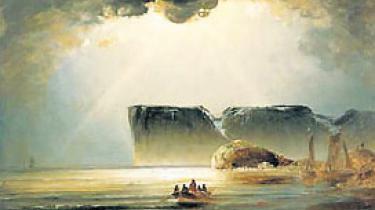 Lille beskidte menneske, nu skal du møde Gud. I Peder Balkes 1800-tals Norge står bjergene som sfæriske skikkelser, der vogter over den frådende primitive natur