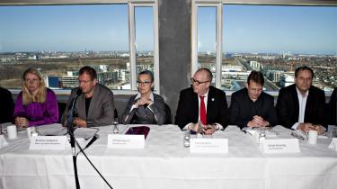 Med udsigt ud over Ørestaden præsenterede Københavns Kommunes borgmestre i går byens nye klimaplan. En plan, som skal gøre København CO2-neutral i 2025.