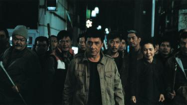 Stjerne. Jackie Chan (midten) var en af de Hong Kong-skuespilleren, Vesten fik smag for i 1970-erne. Her er han i -Shinjuku Incident-, som åbner festivalen søndag.