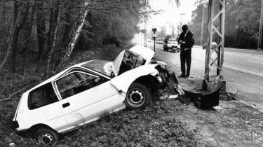 Nøglen til Blekingegade. En forulykket bil syd for Birkerød den 2. maj 1989 indeholdt det afgørende spor, som førte politiet til lejligheden i Blekingegade. Hvordan kunne banden virke så længe, selvom de havde været under intens overvågning i årevis.