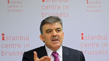 Tyrkiets præsident, Abdullah Gül, har rost Anders Fogh Rasmussen, men har ikke direkte udtrykt støtte til hans NATO-kandidatur.