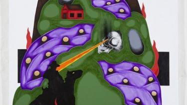 Kunstfænomenet Frodo Mikkelsen er vild med kaniner og kranier