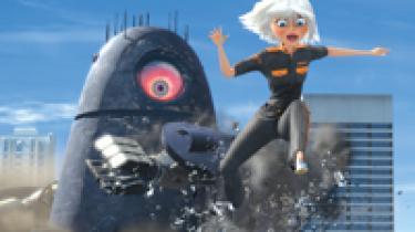 DreamWorks' seneste computeranimerede tegnefilm, Monsters vs. Aliens, er den første film i digital 3D, som kan ses i biografer i landets store byer